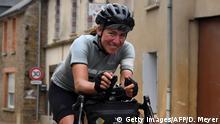 Radsportlerin Fiona Kolbinger