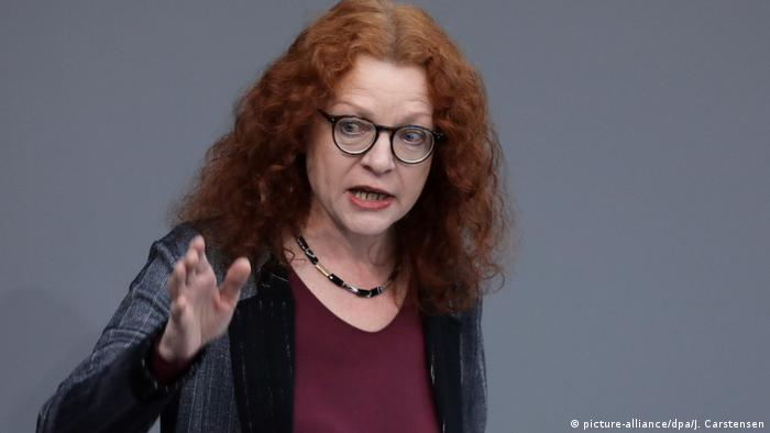 Margarete Bause speaking in the Bundestag