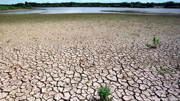 Symbolbild: Wasserknappheit in Deutschland (picture-alliance/dpa/J. Büttner)