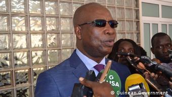 Armando Mango - Sprecher der Regierung Guinea-Bissau