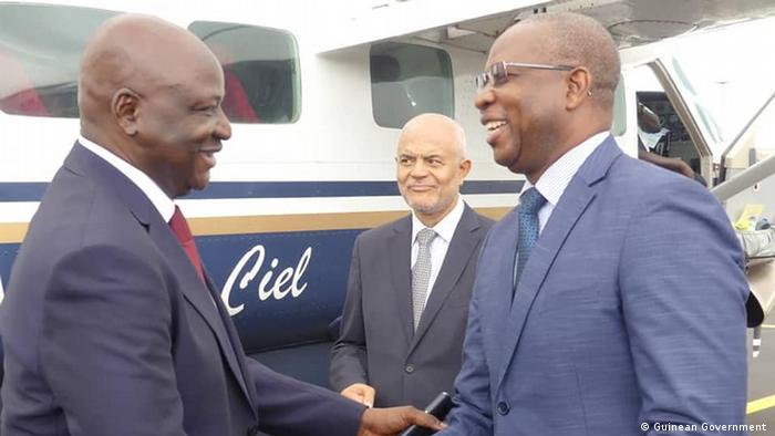 Armando Mango - Sprecher der Regierung Guinea-Bissau (Guinean Government )