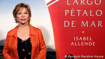 Largo pétalo de mar, novo livro de Isabel Allende