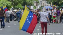 Caracas, Miranda, Venezuela: Protest am Tag der Unabhängigkeit