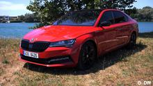 Online-Startbild für Motor mobil, drive it, al volante | Am Start: Skoda Superb