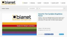 Screenshot Bianet Website