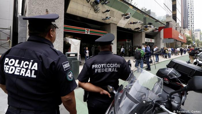 Police in Mexico keep watch after robbers stole gold coins from Casa de Moneda in Mexico City