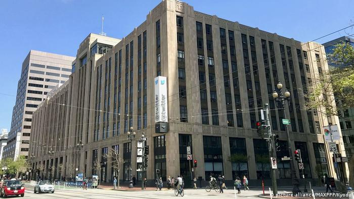 Twitter Headquarter in San Francisco