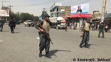 Afghanistan Kabul nach Bombenanschlag
