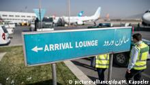 dpa-Story: Abschiebeflug nach Afghanistan (picture-alliance/dpa/M. Kappeler)