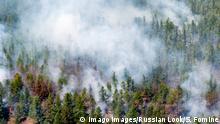 Russland Waldbrände in Sibirien Republik Burjatien