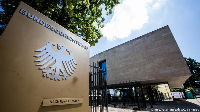 Deutschland: Bundesgerichtshof in Karlsruhe (picture-alliance/dpa/C. Schmidt)