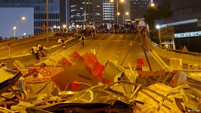 Hongkong Proteste Julia L