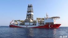 August 2019 *** türkische Forschungsschiff Yavuz hat die Arbeit aufgenommen und soll drei Monate lang im Mittelmeer nach Erdgas suchen.