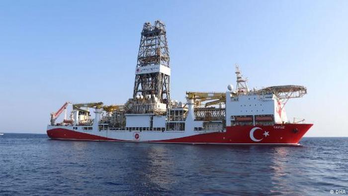 Nord-Zypern türkisches Forschungsschiff Yavuz