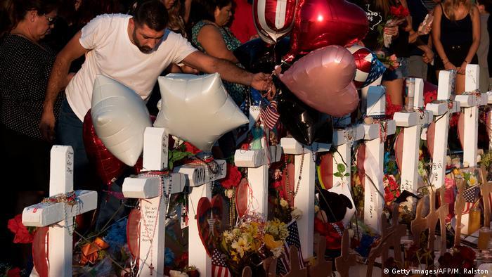 USA Gedenken in El Paso