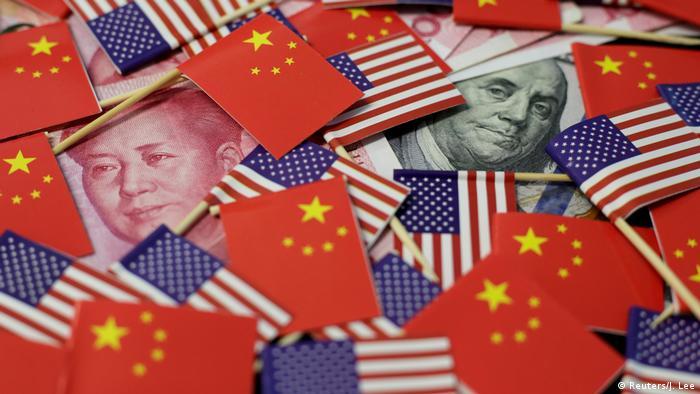 Symbolbild China - USA