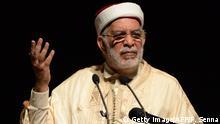 Marokko tunesier Abdelfattah Mourou bei der Marokkanische Bewegung für Einheit und Reform