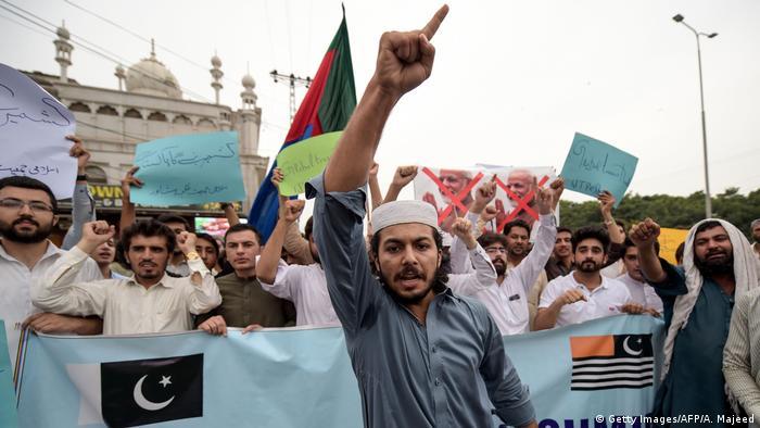 Pakistan Unterstützer von Kaschmir in Peshawar (Getty Images/AFP/A. Majeed)