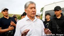 Kirgistan- Ex-Präsident Almazbek Atambayev
