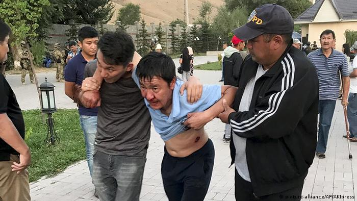 Раненый в ходе столкновений в селе Кой-Таш