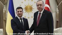 Präsident der Ukraine auf Staatsbesuch in der Türkei