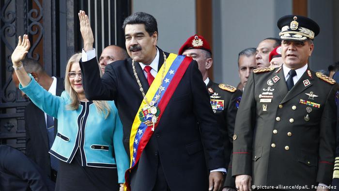 Nicolás Maduro, presidente de Venezuela, y la primera dama del país, Cilia Flores. (Archivo).