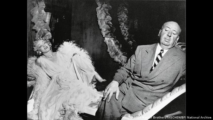 Marlene Dietrich and Alfred Hitchcock (Warner Brothers/TASCHEN/BFI National Archive)