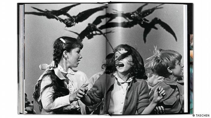 Book on Hitchcock showing still from The Birds (TASCHEN)