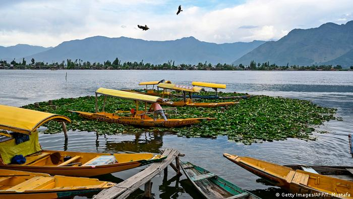 Dal Lake in Srinagar