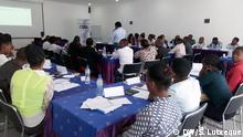Mosambik Ausbildung von Wahlbeobachtern