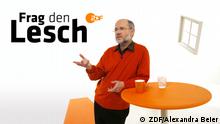ZDF Frag den Lesch Sendungslogo