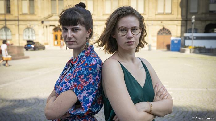 Ханна Зайдель (слева) и Ида Мари Зассенберг