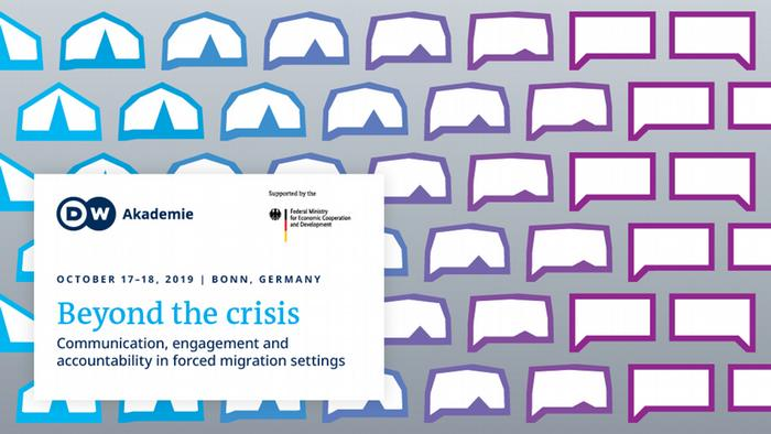 Invitation to conference: Beyond the crisis. Communication, engagement and accountability in forced migration settings