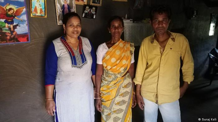 Robbed of the sole breadwinner, the Lakda family (his daughter, wife and son-in-law) now has to fight various battles, some legal and others financial (Suraj Koli)