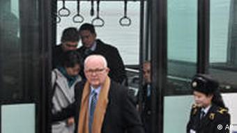 USA Südkorea Nordkorea Stephen Bosworth Bus