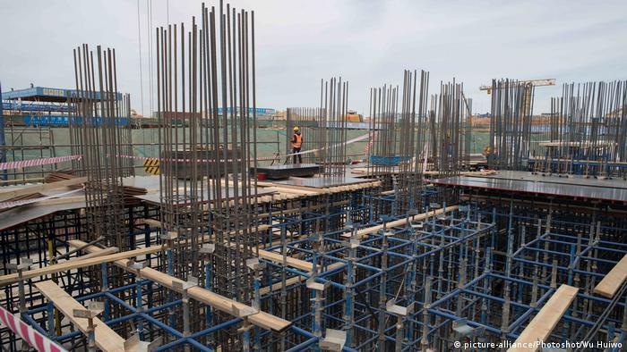 Building site near Cairo, Egypt