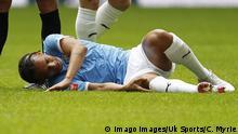 Fußball Leroy Sane von Manchester City verletzt