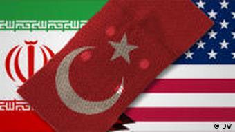 Symbolbild Iran Türkei USA
