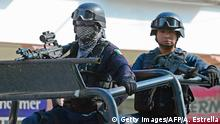 Mexiko Symbolbild Polizei in Michoacán
