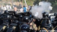 Kirgisistan Polizei nimmt Kirgistans Ex-Präsidenten fest