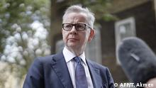 UK Michael Gove (AFP/T. Akmen )