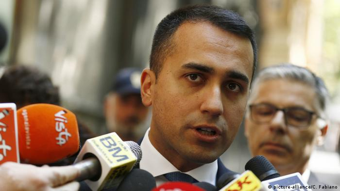 Luigi di Maio (picture-alliance/C. Fabiano)