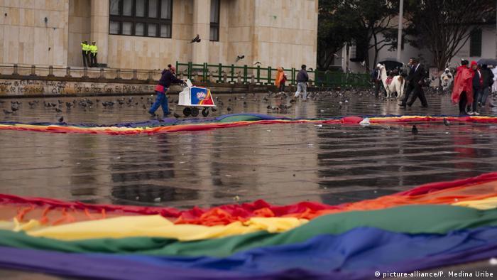 Bogota - Proteste zur Ehe für alle (2013)