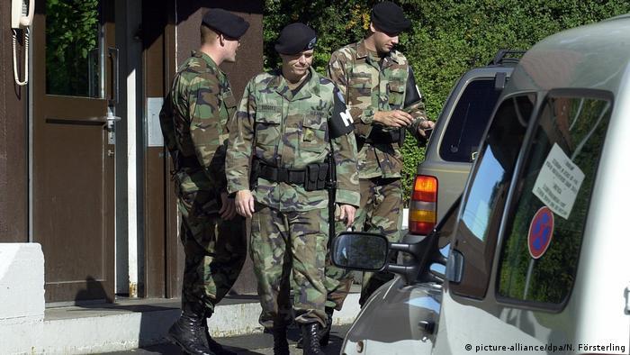 Deutschland Standort der US-Armee in Stuttgart-Vaihingen, 2003 (picture-alliance/dpa/N. Försterling)