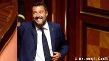 Italien Regierungskrise | Innenminister Matteo Salvini in Rom