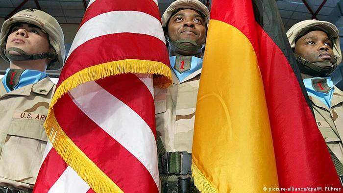 US soldiers in Würzburg
