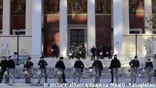 Griechenland 2015 | Polizei vor Universität in Athen