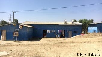 Äthiopien Unterkunft für Vertriebene in Mekele (M. H. Selassie)