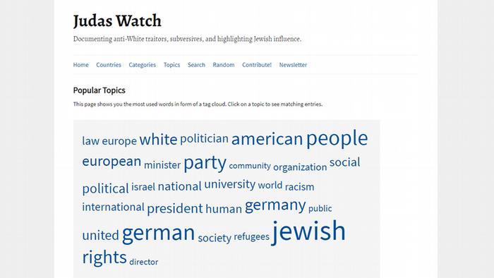 Screenshot Judas Watch | Popular Topics