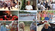 Collage aus Einsendungen Euromaxx Zuschaueraktion Lieblingsfest